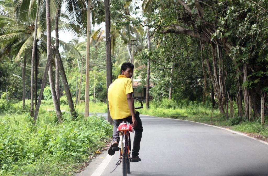 Goan cyclist