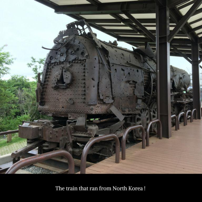 Steam engine - Korean border Imjingak